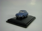 Renault Dauphine metallic blue 1:76 Oxford