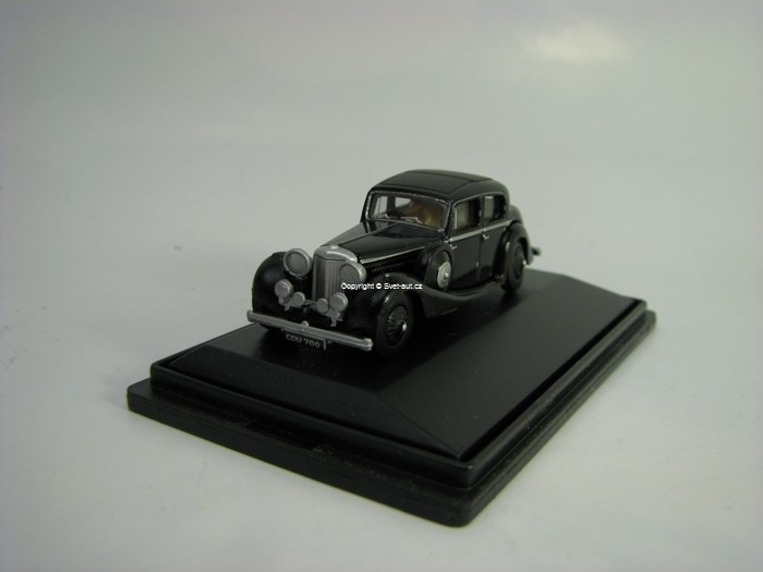 Jaguar SS 2,5 Saloon black 1:76 Oxford