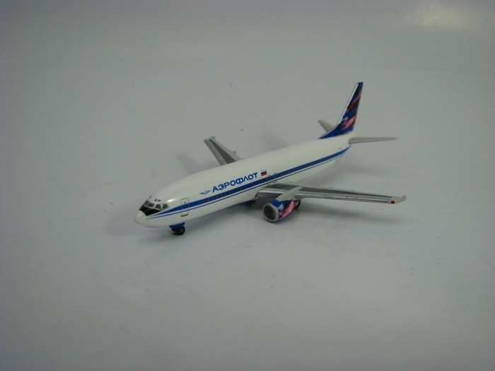 Boeing 737-400 Aeroflot Russian Airlines 1:500 Herpa