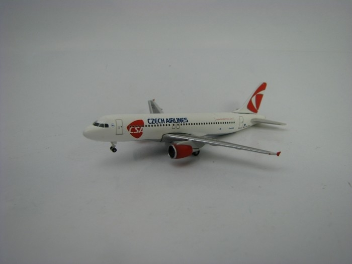Airbus A320 Czech Airlines 1:500 Herpa
