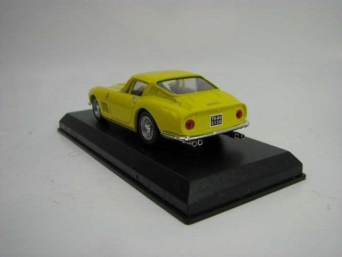 Ferrari 275 GTB/4 Coupe Yellow 1:43 Best-M4