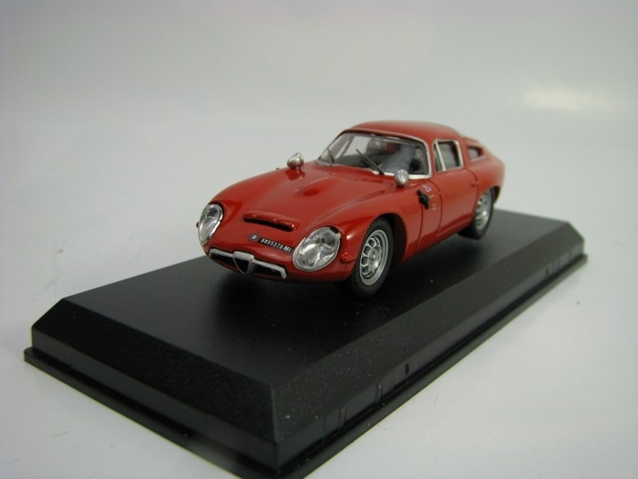 Alfa Romeo TZ1 Prova Red 1:43 Best