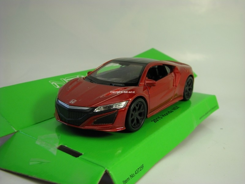 Honda NSX 2015 Red Brown 1:32-39 Welly