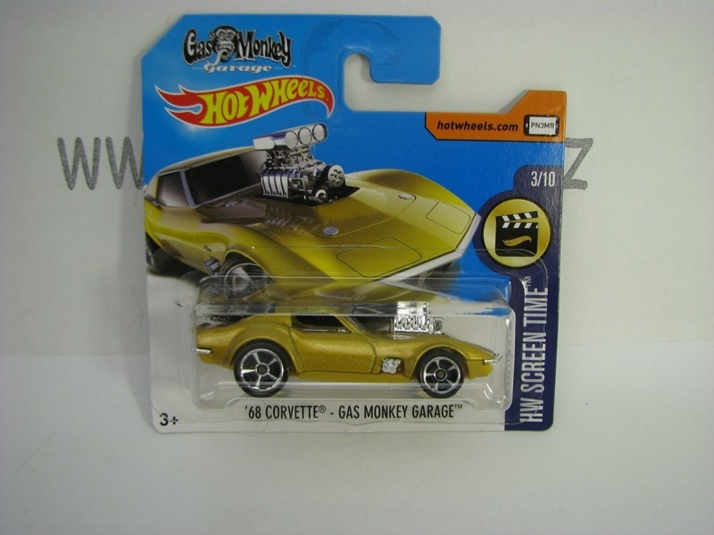 68 Corvette Gas Monkey Garage Hot Wheels Screen Time