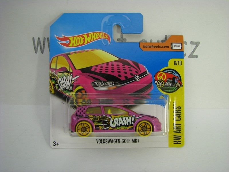 Volkswagen Golf MK7 Hot Wheels Art Cars