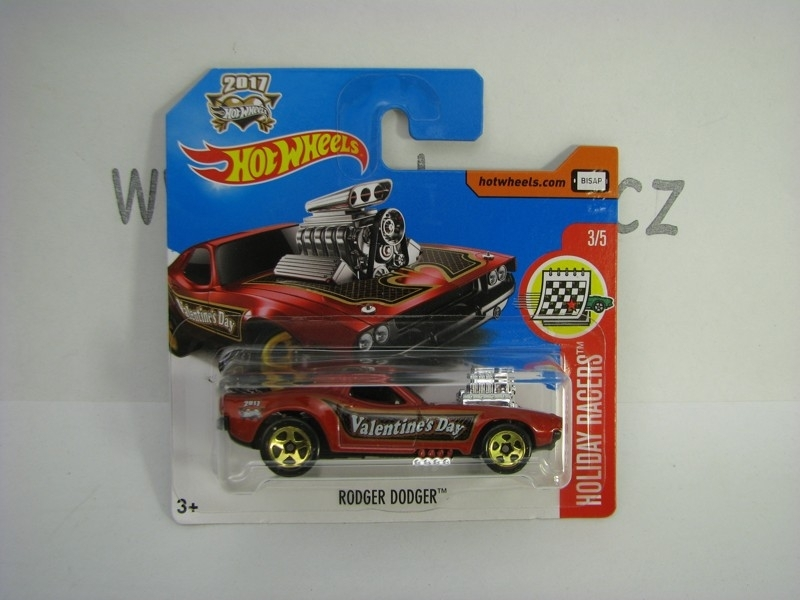 Rodger Dodger Hot Wheels Holiday Racers