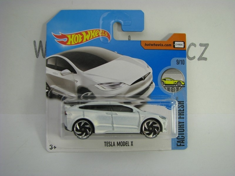 Tesla Model X Hot Wheels Factory Fresh