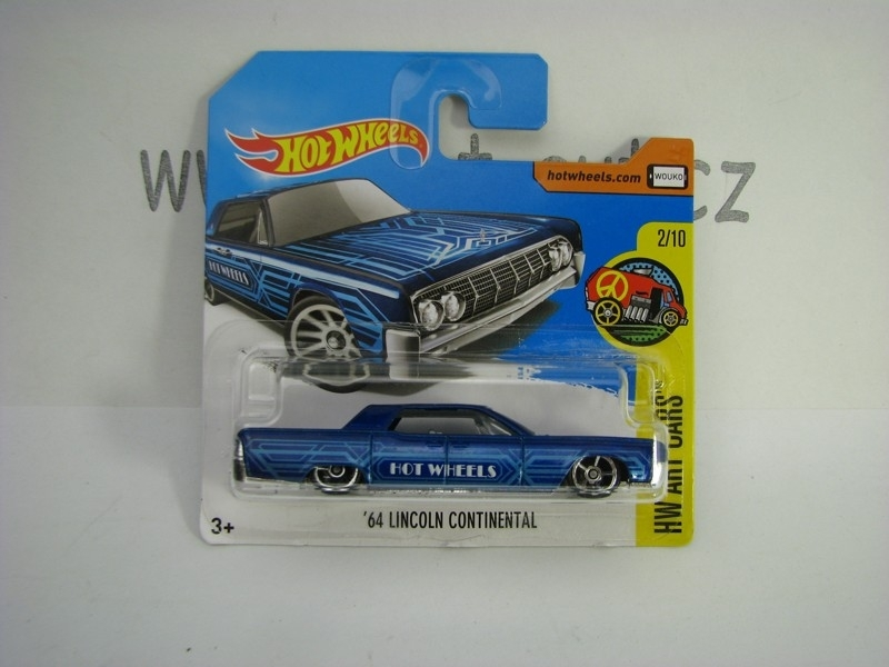 64 Lincoln Continental Hot Wheels Art Cars