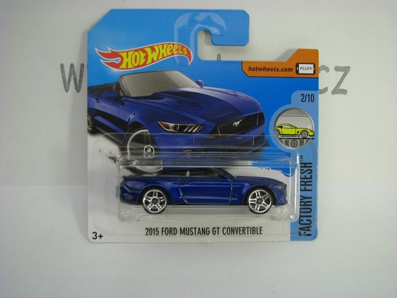 2015 Ford Mutang GT Convertible Hot Wheels Factory Fresh