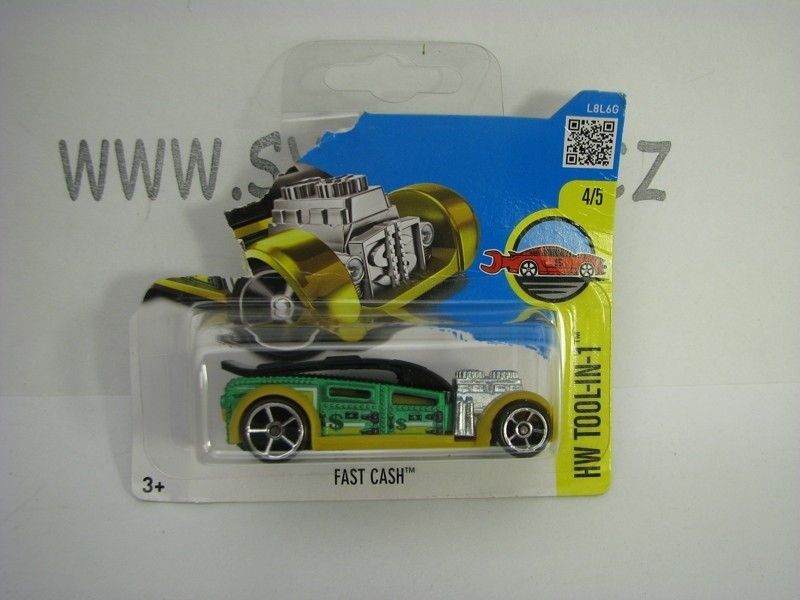 Fast Cash Hot Wheels Tool-In-1