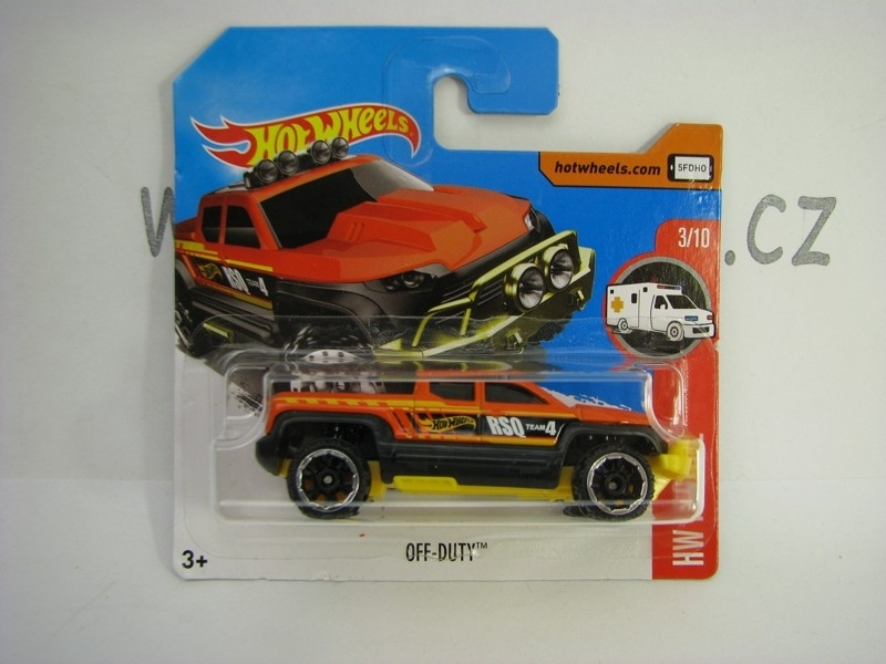 Off Duty Hot Wheels Rescue