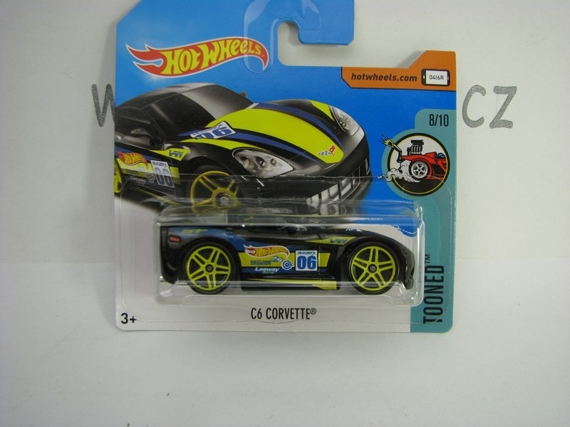 C6 Corvette Hot Wheels Tooned