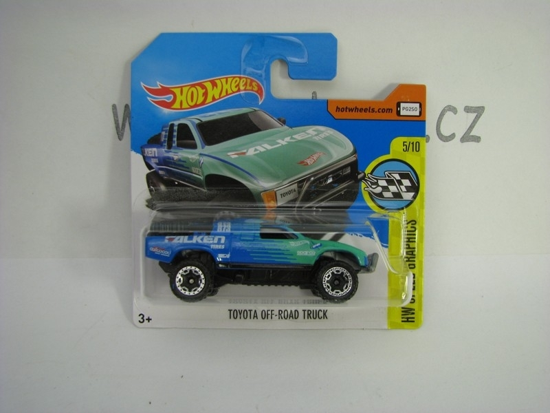 Toyota Off-Road Truck Hot Wheels Speed Graphics