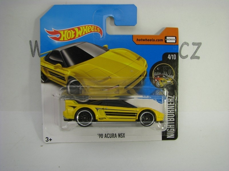 90 Acura NSX Hot Wheels Nightburnerz