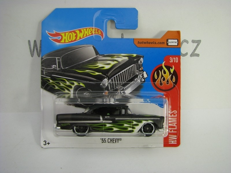 55 Chevy Hot Wheels Flames