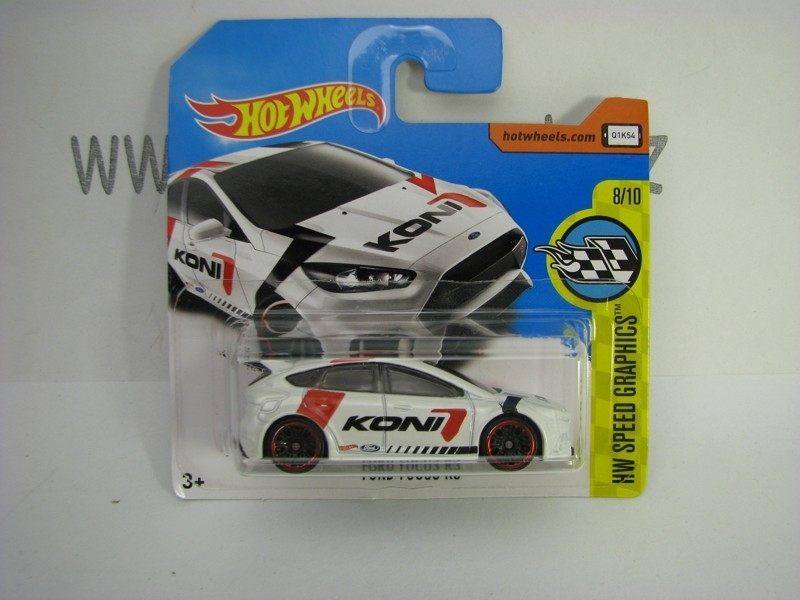 Ford Focus RS Hot Wheels Speed Graphics