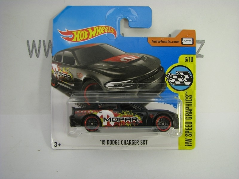 Dodge Charger SRT 2015 Hot Wheels Speed Graphics