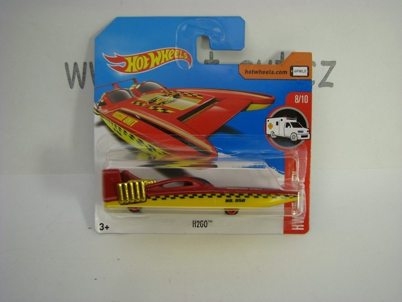 H2GO člun Rescue Unit Hot Wheels Rescue