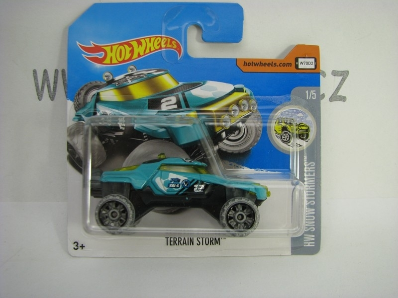 Terrain Storm Hot Wheels Snow Stormers