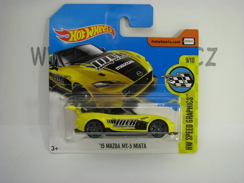 Mazda MX-5 Miata 2015 Hot Wheels Speed Graphics