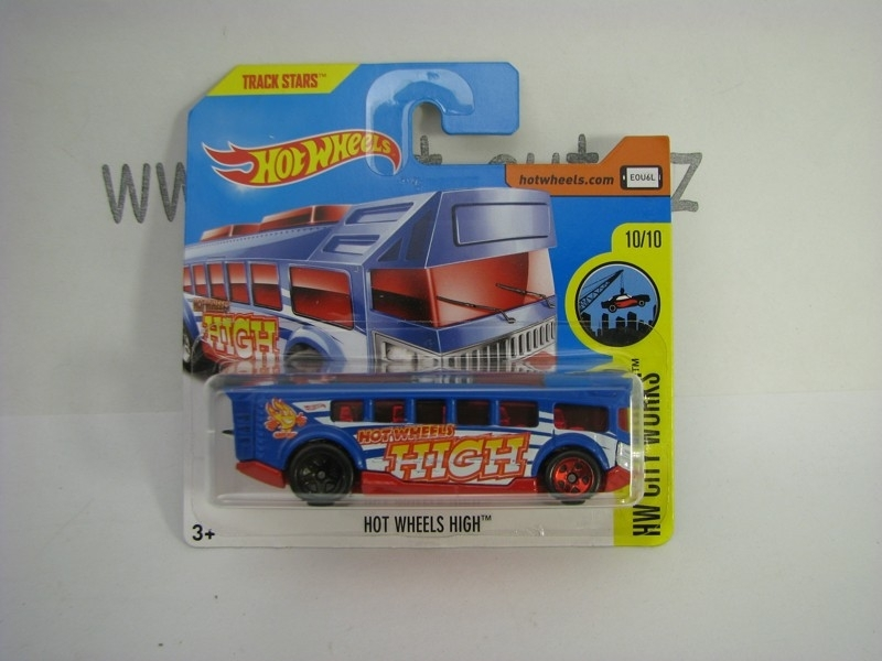 Autobus Hot Wheels High Hot Wheels City-Works