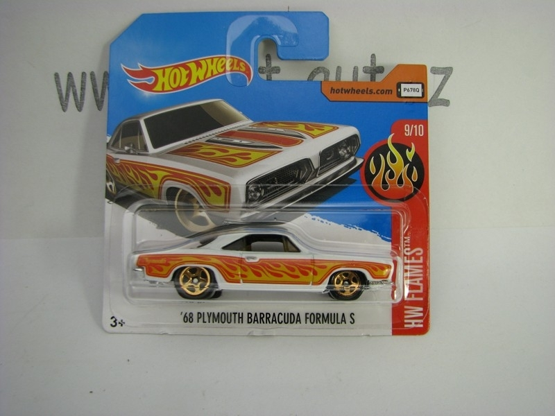Plymouth Baracuda Formula S 1968 Hot Wheels Flames