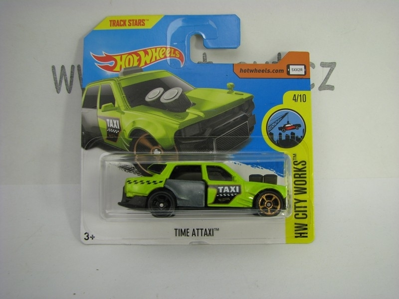 Time ATTAXI Hot Wheels City Works