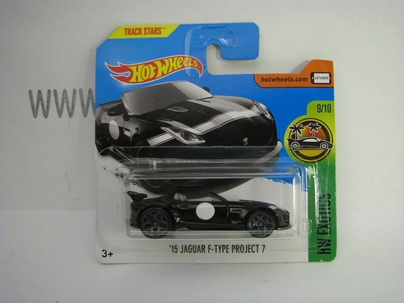 Jaguar F-Type Project 7 2015 Hot Wheels Exotics