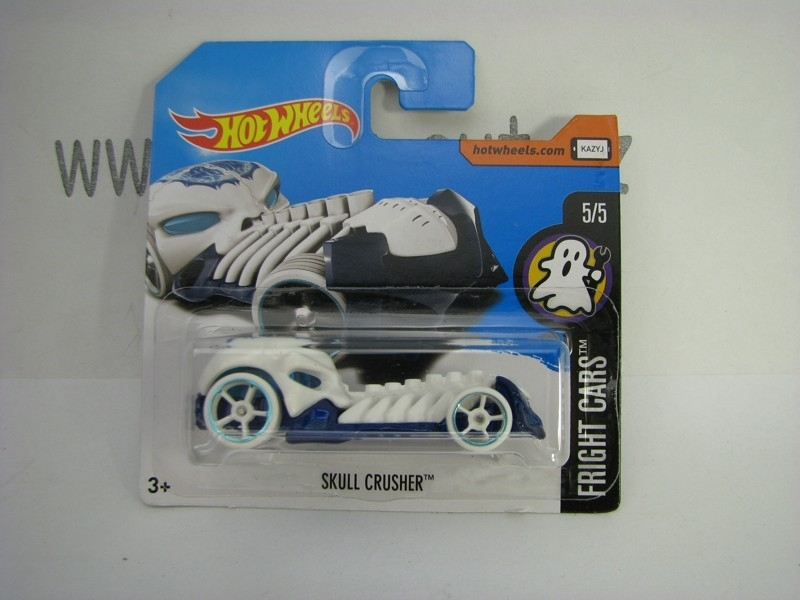 Skull Crusher Hot Wheels Fright Cars