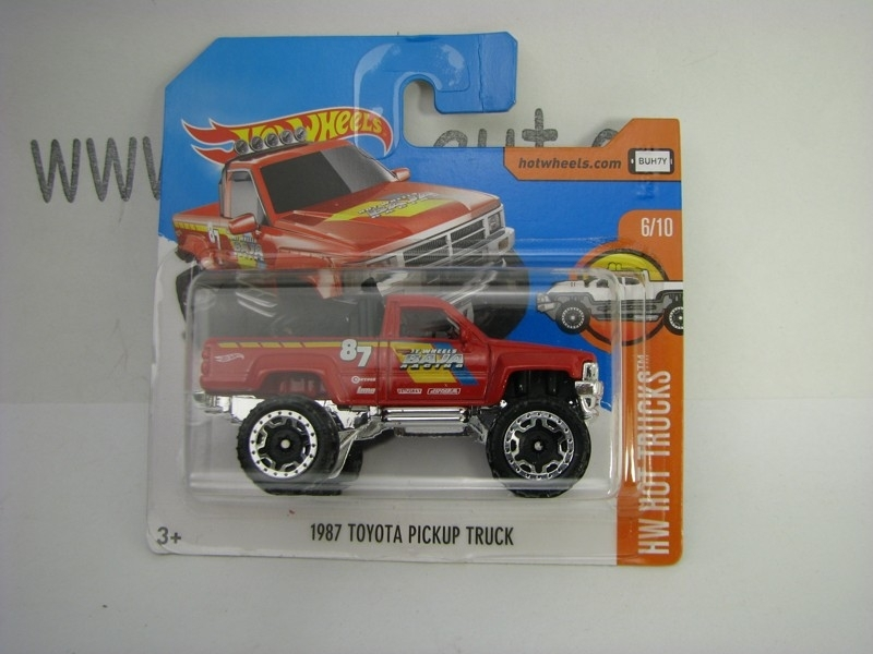 Toyota Pick Up Truck 1987 Hot Wheels Hot Trucks