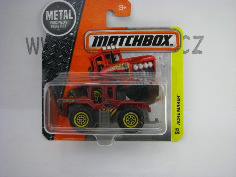 Matchbox - 2016 Construction 53/125 Acre Maker