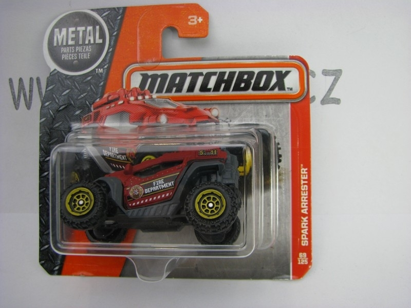 Matchbox - 2016 Rescue 69/125 Spark Arrester Fire