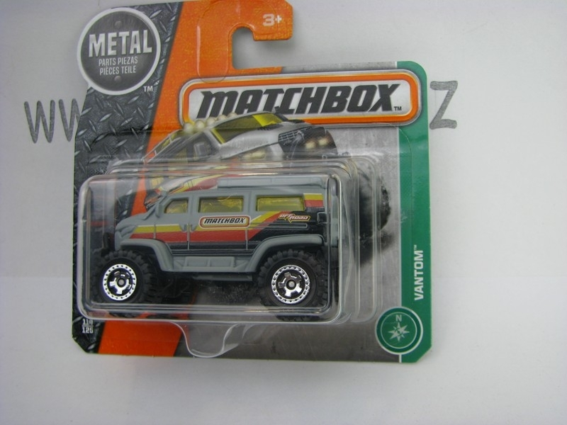 Matchbox - 2016 Explorers 114/125 Watom