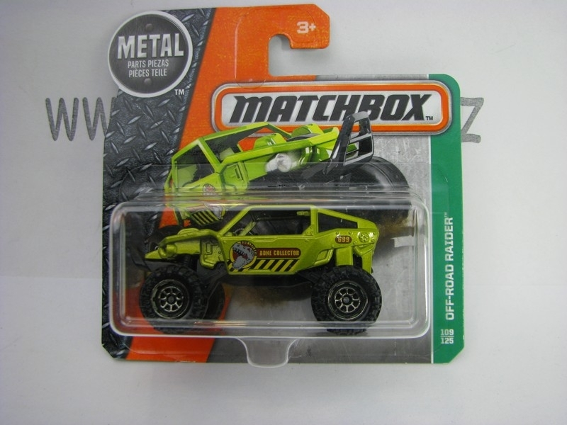 Matchbox - 2016 Explorers 109/125 Off-Road Raider