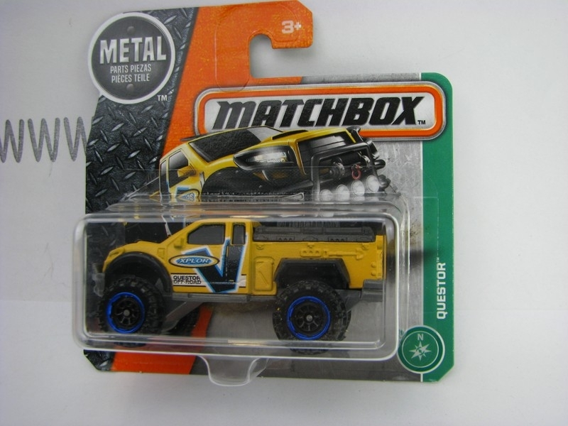 Matchbox - 2016 Explorers 123/125 Questor