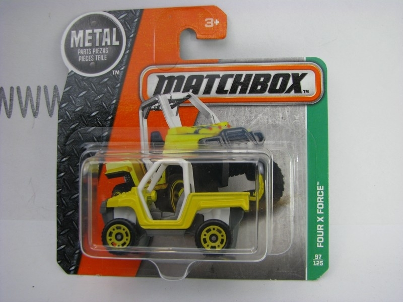Matchbox - 2016 Explorers 97/125 Four X Force