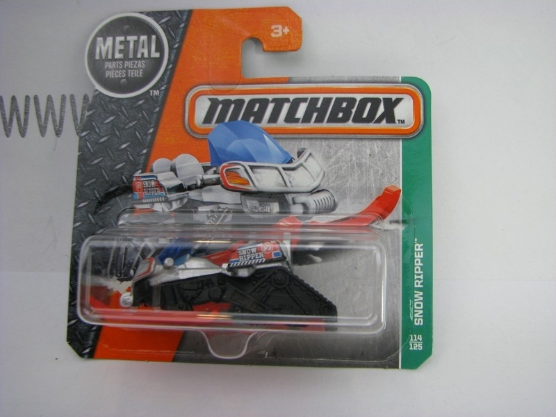 Matchbox - 2016 Explorers 114/125 Snow Ripper