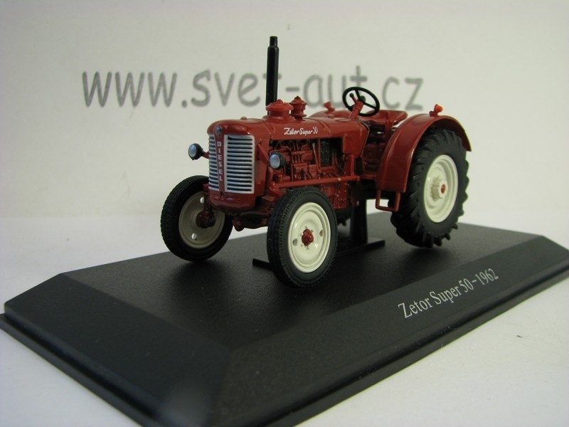 Zetor Super 50 - 1962 Red 1:43 Universal Hobbies