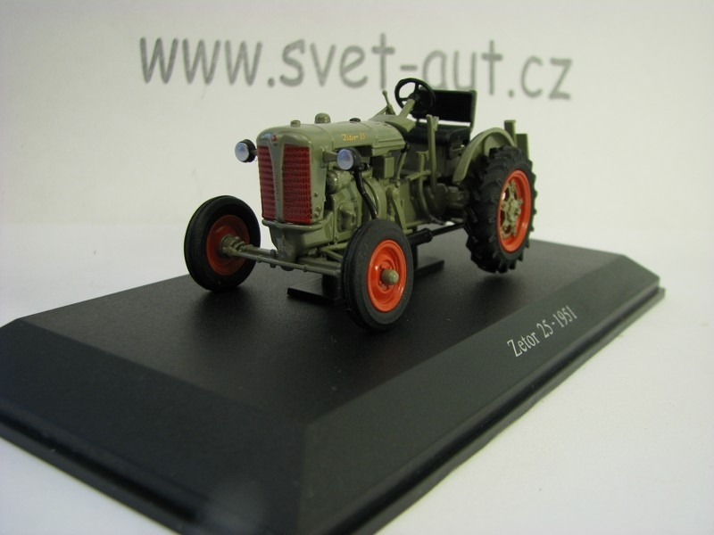 Zetor 25 - 1951 Grey 1:43 Universal Hobbies