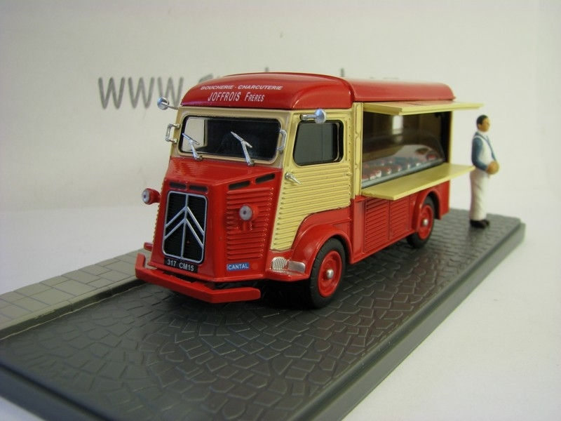 Citroen Type H Boucherie - Charcuterie 1:43 Atlas Edition