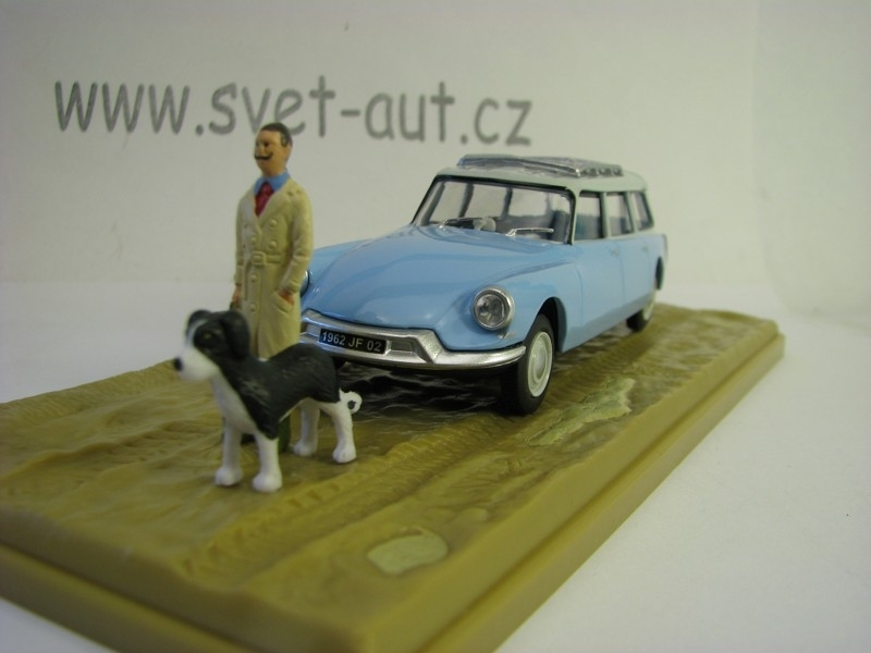 Citroen ID 19 Break Veterinare 1970 1:43 Atlas Edition