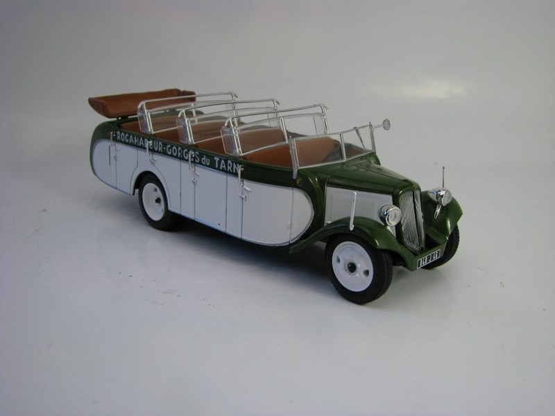 Autobus Citroen T23RU Chaissaing France 1947 1:43 Atlas
