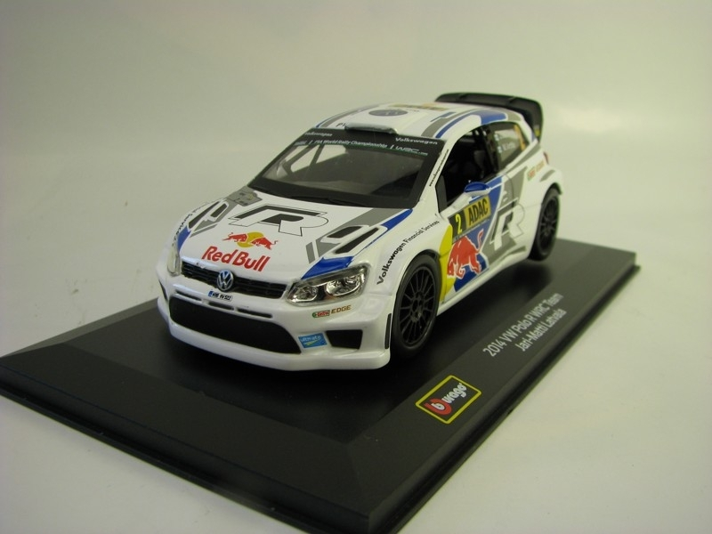 Volkswagen Polo Red Bull WRC Team 2014 No.2 Latvala 1:32 Bburago
