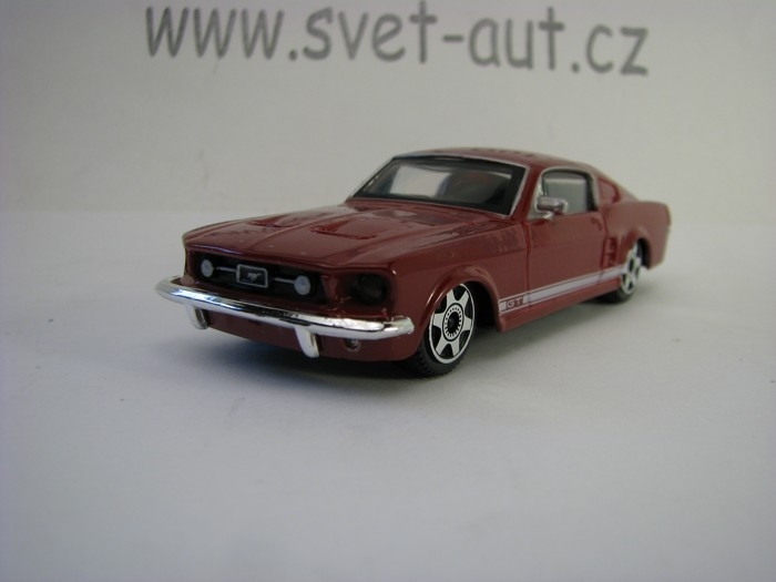 Ford Mustang GT 1964 Red 1:43 Bburago