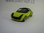 Smart Roadster Yellow 1:43 Bburago