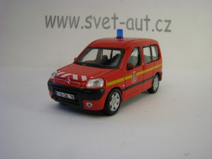 Citroen Berlingo 2012 Fire 1:50 Bburago