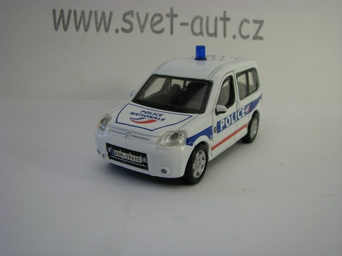 Citroen Berlingo 2012 Police Nationale 1:50 Bburago