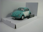 Volkswagen Beetle Classic Green White 1:43 Cararama