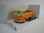 Volkswagen T1 Pick Up 1960 Orange 1:43 Cararama