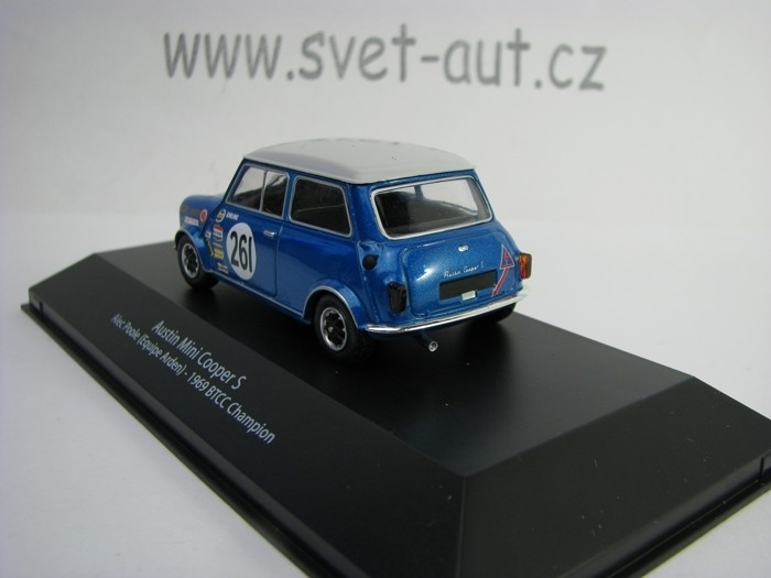 Austin Mini Cooper S No.261 Alec Poole 1969 BTCC Champion 1:43 A